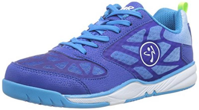 Zumba Footwear Zumba Energy Fuze - zapatillas deportivas de material sintético mujer, color azul, talla 35.5
