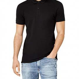 JACK & JONES Jjebasic Polo SS Noos, Hombre, Negro (Black