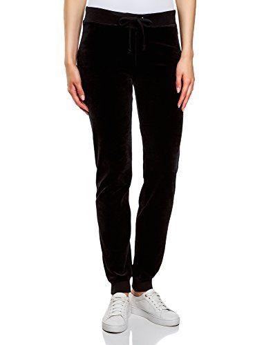 oodji Ultra Mujer Pantalones Deportivos con Cordones Moda mujer