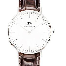 Daniel Wellington Reloj con Correa de Caucho para Hombre
