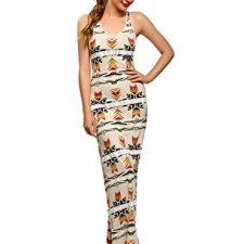 oodji Ultra Mujer Vestido Estampado Étnico Moda mujer