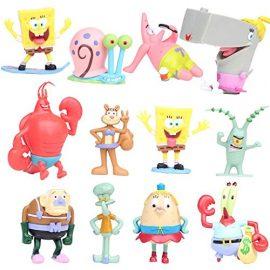 SpongeBob – Bob Esponja y sus amigos – set 12 figuras-con