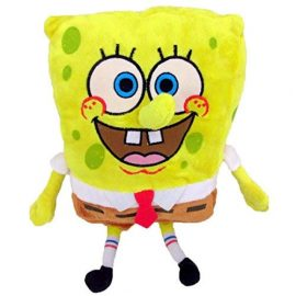 Bob Esponja Normal Supersoft 30cm Muñeco Peluche Serie