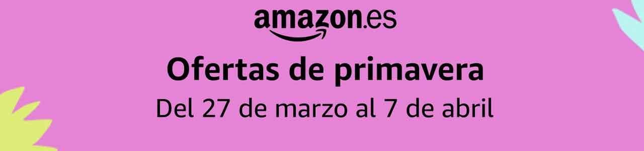 Ofertas de Primavera en Amazon