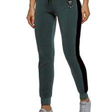 oodji Ultra Mujer Pantalones Deportivos con Inserciones Moda mujer
