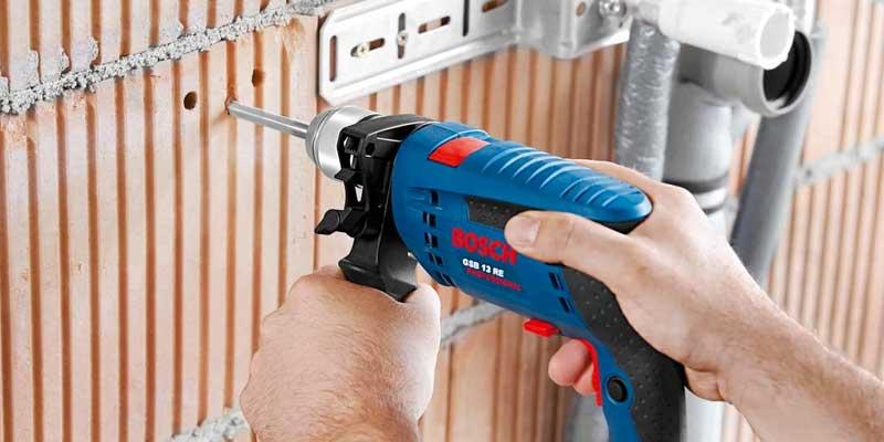 Bosch GSB 13 RE Professional – Taladro percutor (600 W, 240 V) Bricolaje y herramientas