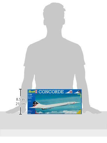 Revell- Concorde British Airways, Kit de Modelo, Escala