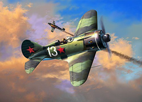 Revell- Polikarpov I-16 Rata Kit de Modelo, 1: 32 Escala