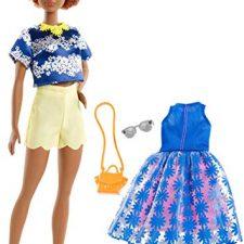 Barbie – Fashionista, muñeca Vestida (Mattel FJF6)