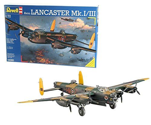 Revell- Avro Lancaster MK.I/III, Kit de Modelo, Escala 1:72 Modelismo y Maquetas
