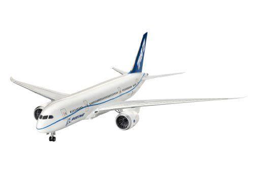Revell- Boeing 787-8 Dreamliner, Kit De Modelo, Escala 1:144 Modelismo y Maquetas