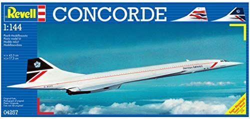Revell- Concorde British Airways, Kit de Modelo, Escala Modelismo y Maquetas