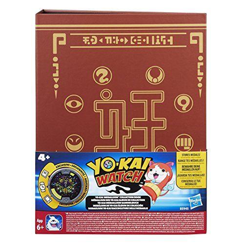 Yokai – Álbum de colección medallium (Hasbro B5945EQ0)
