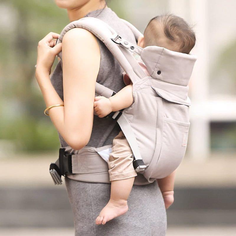 mochilas portabebes delantera y trasera