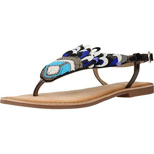Sandalias y Chanclas para Mujer, Color Azul, Marca GIOSEPPO, Modelo Sandalias Y Chanclas para Mujer Sandalias Gioseppo