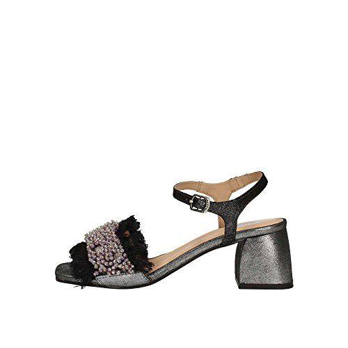 GIOSEPPO Zapatos Mujer Sandalias de Tacón bajo 45310 Negro Sandalias Gioseppo