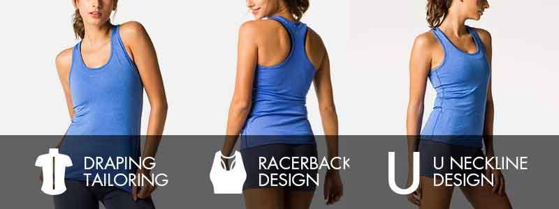 Camisetas deportivas yoga