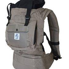 Mochila portabebes para llevar a tu bebe Manos libres – Portabebes de diseño Ergonómico con Mochilas Portabebés