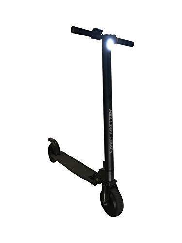 Helliot Design 6.5 Patinete eléctrico Plegable, Adultos Unisex, Negro, Talla Única Patinetes Eléctricos