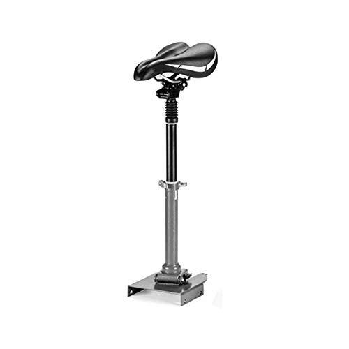Laduup – Sillín de Bicicleta eléctrico, monopatín, Patinete, Silla Plegable, Ajustable, sillín Patinetes Eléctricos