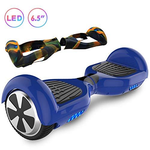RCB Hoverboard Patinete Eléctrico Autoequilibrio Smart Scooter para Adultos Niños-UL2272 Patinetes Eléctricos