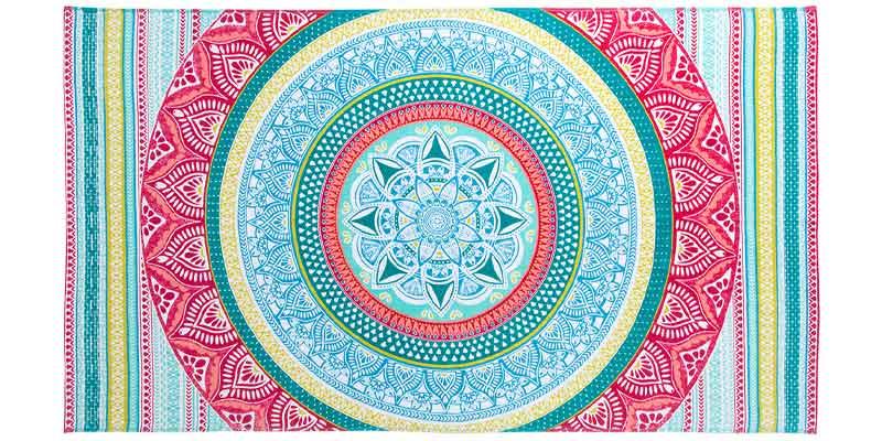 Toalla rectangular Mandala