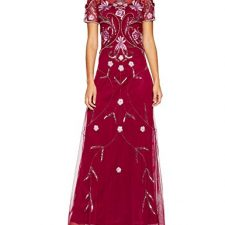 Frock and Frill Embellished Maxi Dress, Vestido de Fiesta para Mujer Vestidos Frock And Frill