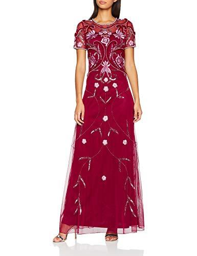 Frock and Frill Embellished Maxi Dress, Vestido de Fiesta para Mujer Vestidos Frock And Frill