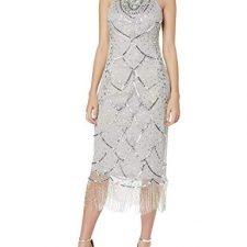 Frock and Frill Gaia Embellished Fringed Dress Vestido Fiesta Mujer Vestidos Frock And Frill