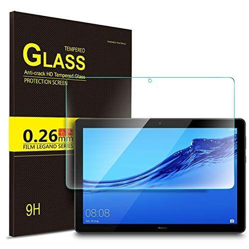 IVSO Templado Protector para Huawei MediaPad T5 10, Premium Cristal de Pantalla de Vidrio Templado Accesorios informática