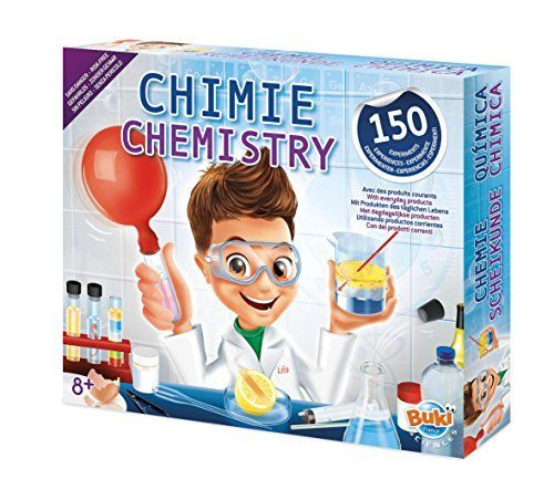 BUKI 8360 – Química 150 experimentos Juguetes educativos