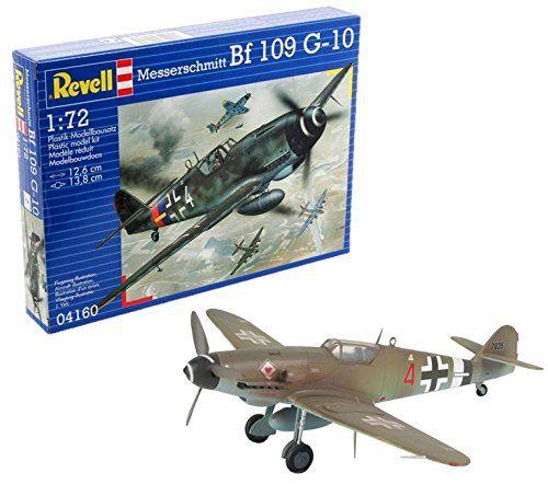 Revell- Messerschmitt BF 109 G-10, Kit de Modelo, Escala 1:72 (4160) (04160),, 12,6 cm de Largo ( Modelismo y Maquetas