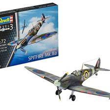 Revell- Spitfire MK.IIa Kit de Modelo,, 12,7cm (03953) Modelismo y Maquetas