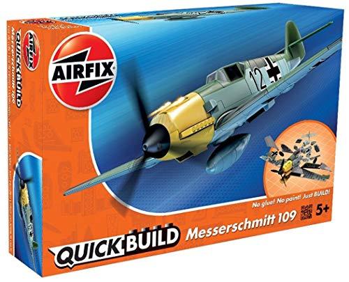 Airfix Quick Build – Modelo de avión Messerschmitt Bf109e Modelismo y Maquetas