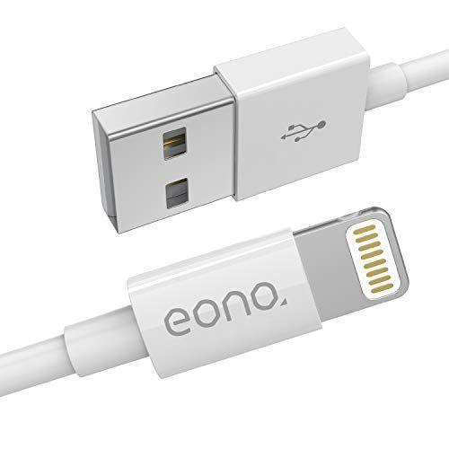 Eono Cable Lightning Cable Cargador Compatible Con iPhone 3.3ft/1m Cargador líder de iPhone Cable Accesorios informática