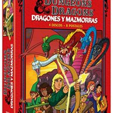 Dragones y Mazmorras 4 DVD Digipack Edición Limitada y Numerada + 8 Postales 1983 Dungeons & Películas y Series TV