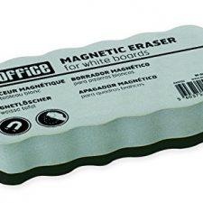 Bi-Office AA0105, Borrador magnético ligero, para pizarra blanca Material de Oficina y Papelería