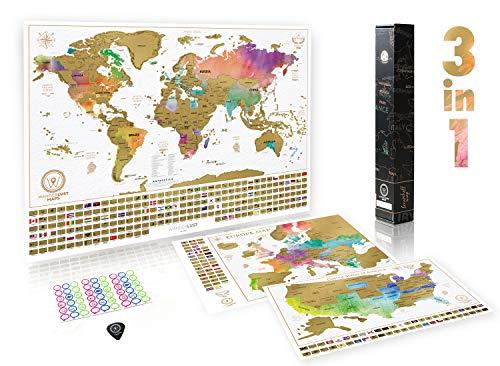 Mapa Mundi Rascar Material de Oficina y Papelería