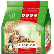 Cat's Best Lecho para gatos Öko Plus, 10L (4.3 kg) Productos para Mascotas