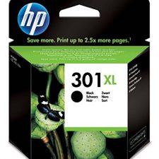 HP CH563EE 301XL Cartucho de Tinta Original de alto rendimiento, 1 unidad, negro Material de Oficina y Papelería