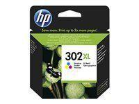HP F6U67AE 302XL Cartucho de Tinta Original de alto rendimiento Material de Oficina y Papelería