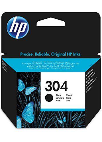 HPN9K06AE 304 Cartucho de Tinta Original, 1 unidad, negro Material de Oficina y Papelería