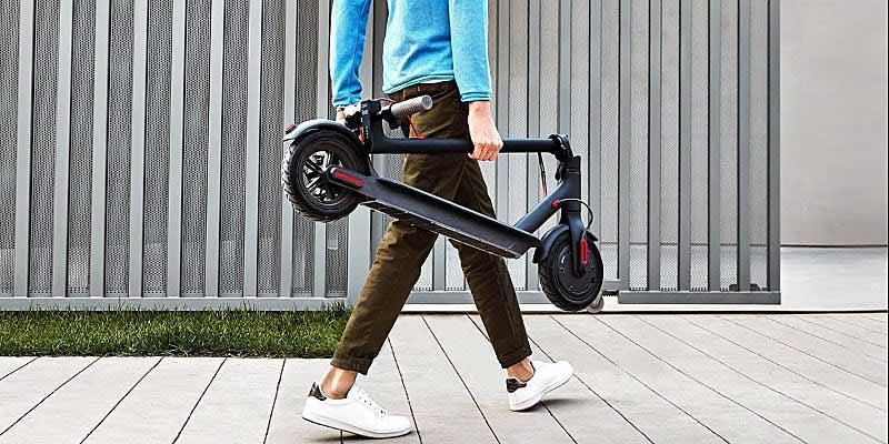 Xiaomi Mi Scooter - Patinete eléctrico plegable