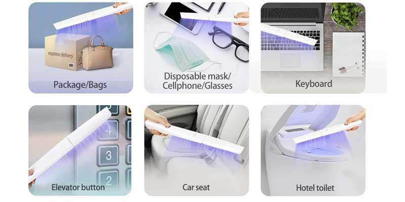Esterilizadores UV para eliminar gérmenes
