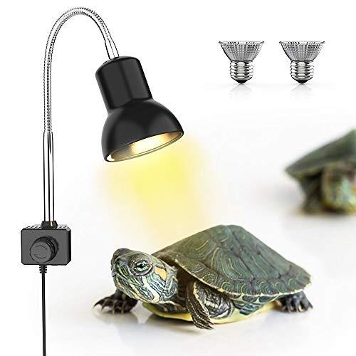 DADYPET Lámpara para Tortuga, UVA UVB Productos para Mascotas