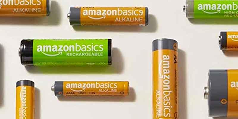 Pilas AmazonBasics