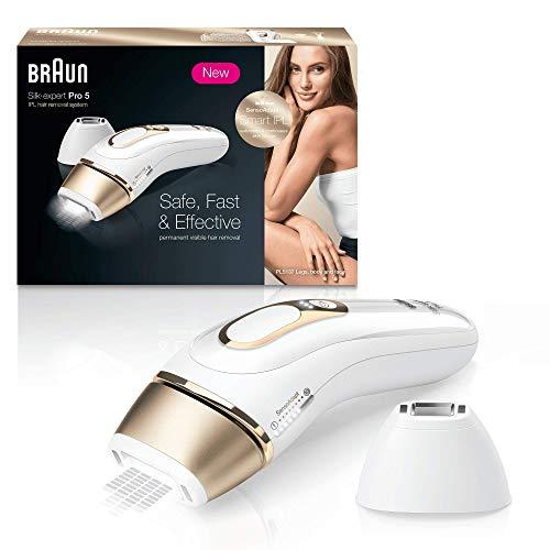 Braun Silk Expert Pro 5 PL5137 – Depiladora de luz pulsada Braun