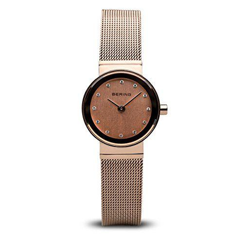 Bering  Classic – Reloj de cuarzo para mujer, con correa de acero Relojes Bering