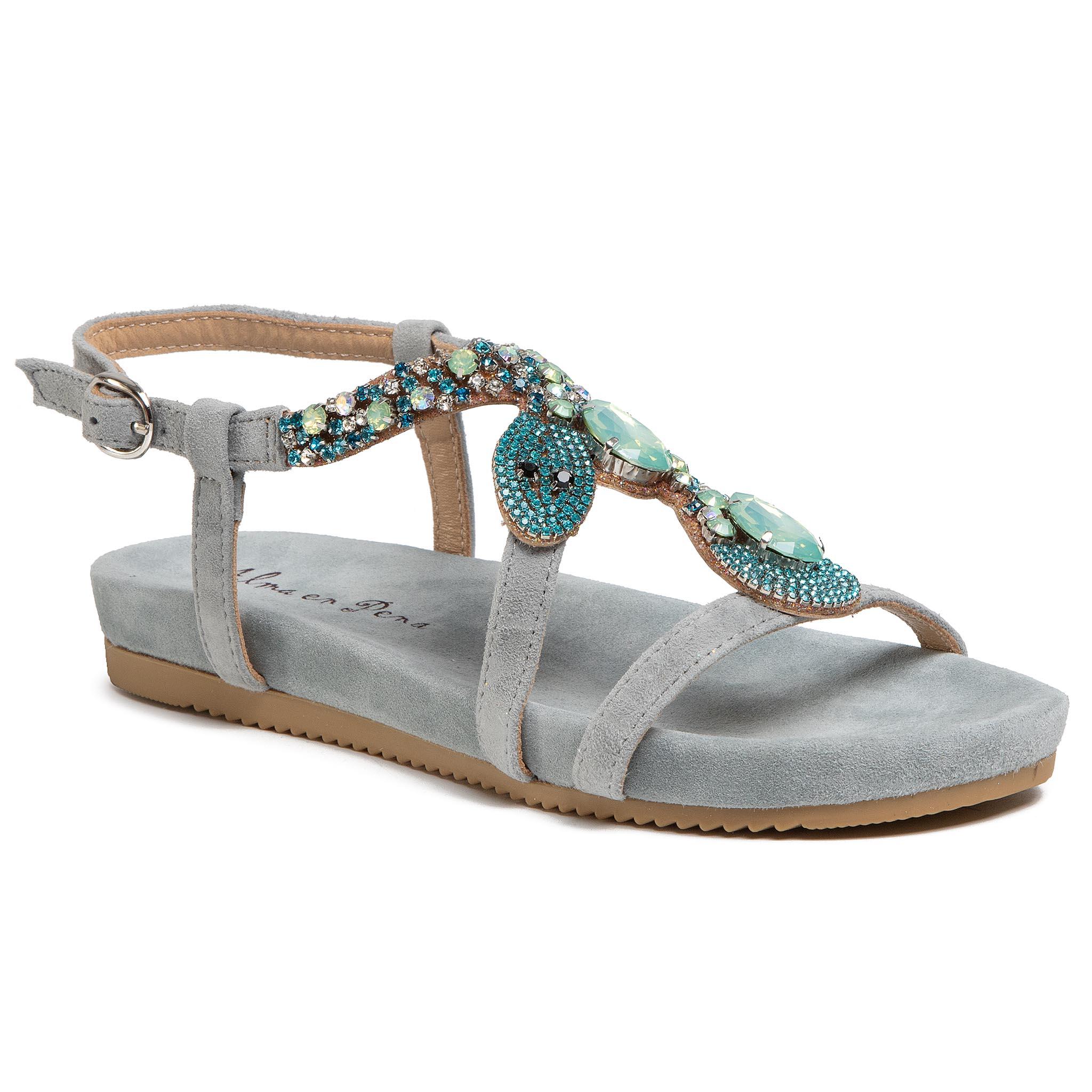 Sandalias ALMA EN PENA - V20846 Suede Jeans
