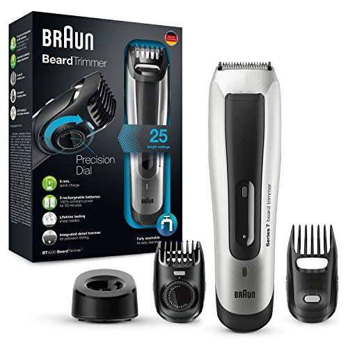Braun BT 5090 – Recortadora de barba, con ajustes de longitud Braun